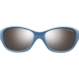 Julbo Kids 4-6Y Solan Spectron 3+ Sunglasses Blue/Yellow-Gray Flash Silver